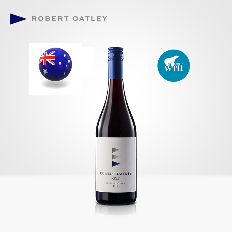 Australia imported Roberto atley 1858 Shiraz dry red wine single gift box SF package