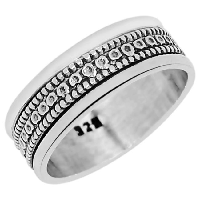 925純銀の指輪、3.7 g、SJP 2027、サイズ:14.5