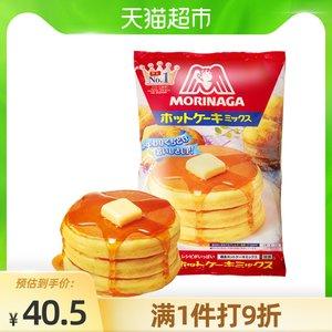 日本进口森永松饼粉600g蛋糕粉铜锣烧早餐华夫饼预拌粉蛋糕粉