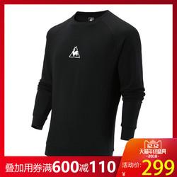 乐卡克法国公鸡字母套头衫运动休闲卫衣男Q6323CFS91