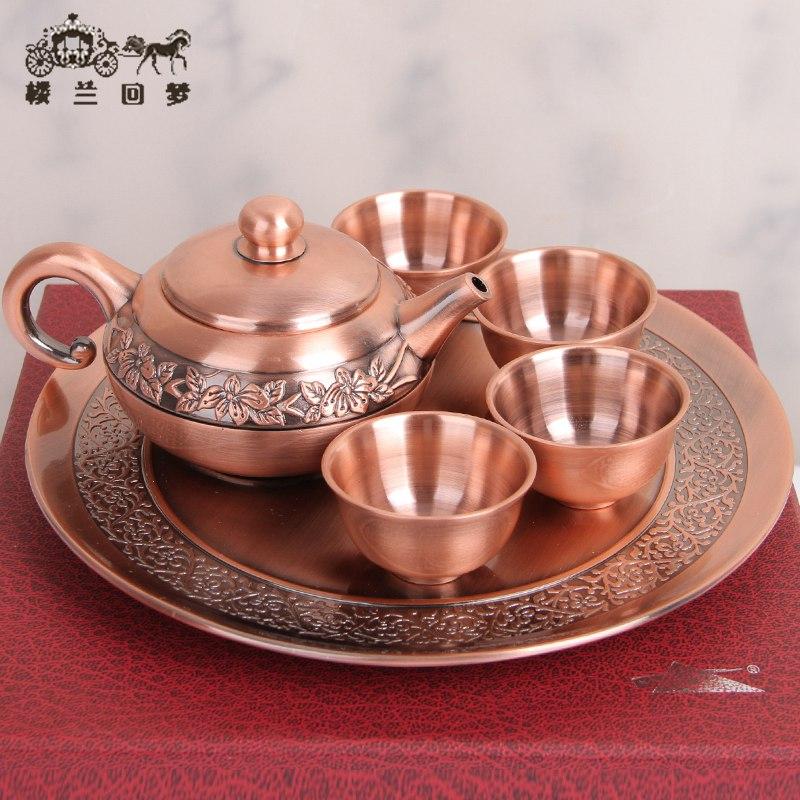 巴基斯坦铜雕铜器俄罗斯锡器功夫茶具酒具特色工艺品特价五一礼品