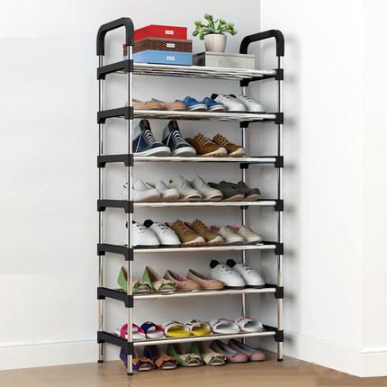 简易家用多层防尘鞋架宿舍收纳神器门口寝室经济型鞋柜好看鞋架子