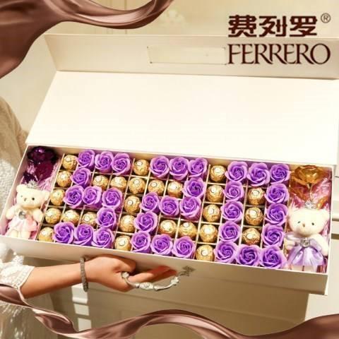 意大利费列罗巧克力礼盒装心形七夕520情人节生日礼物送女友女神图片
