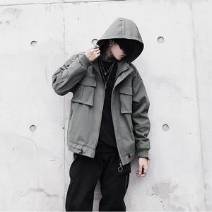 403-1(原400A)-JK28-P105 国潮可脱卸帽青年夹克5(控价178)