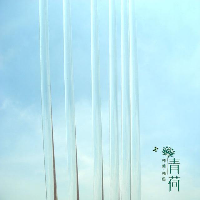 Кожа статья материал инструмент стекло размешивать палка стекло палка ( диаметр 7-8мм)15см размешивать палка
