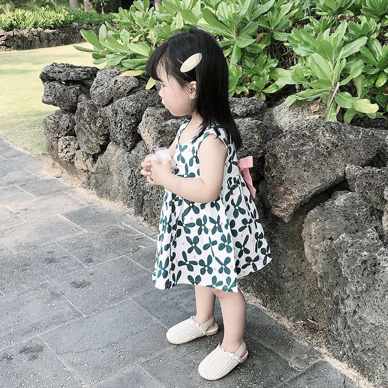 11月29日最新优惠女童连衣裙夏装2019新款韩版小童格子裙子超洋气女宝宝公主裙夏季