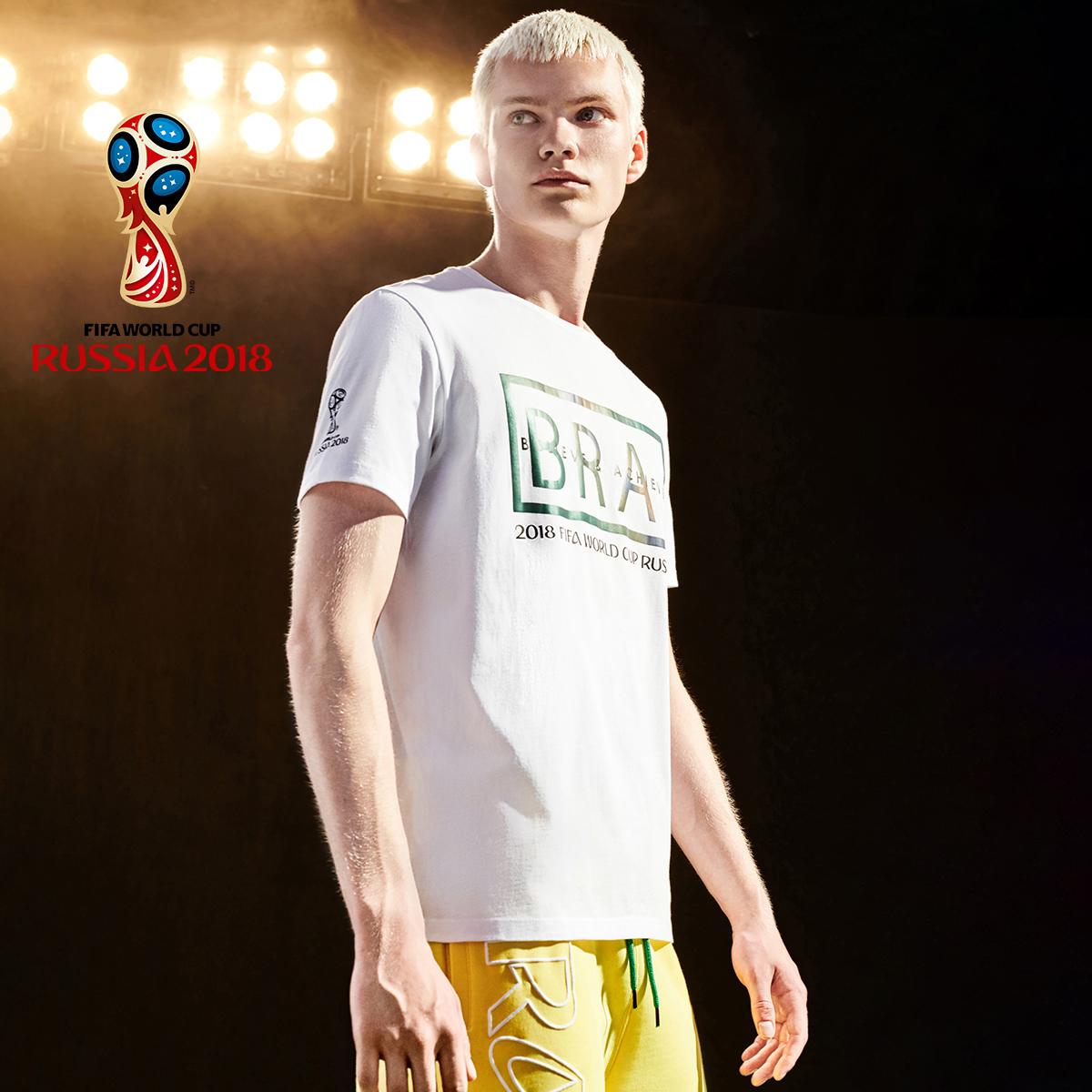 JackJones杰克琼斯世界杯授权FIFA巴西T恤218301539