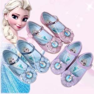女童拉丁舞鞋子儿童女孩软底少儿舞蹈鞋公主鞋演出水晶初学者恰恰