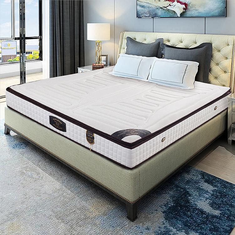 家用乳胶床垫席梦思偏软民宿酒店工程床垫1.8米独立静音弹簧软垫
