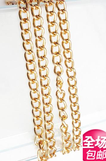 Parcel post metal chain bag hardware accessories super mini chain chain jewelry key mobile phone bag pendant bag