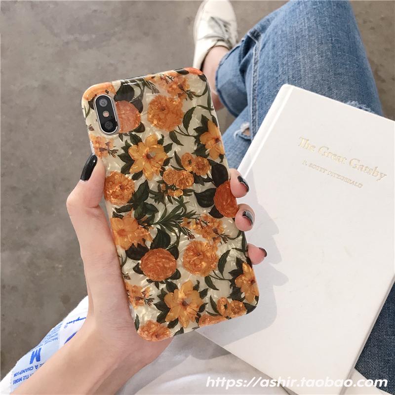 ins复古花朵vivox23手机壳x27硅胶x21软壳x20plus文艺x9s网限时2件3折