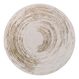 新中式圆形地毯水墨书房印花水洗床边卧室简约现代原创北欧椅地垫