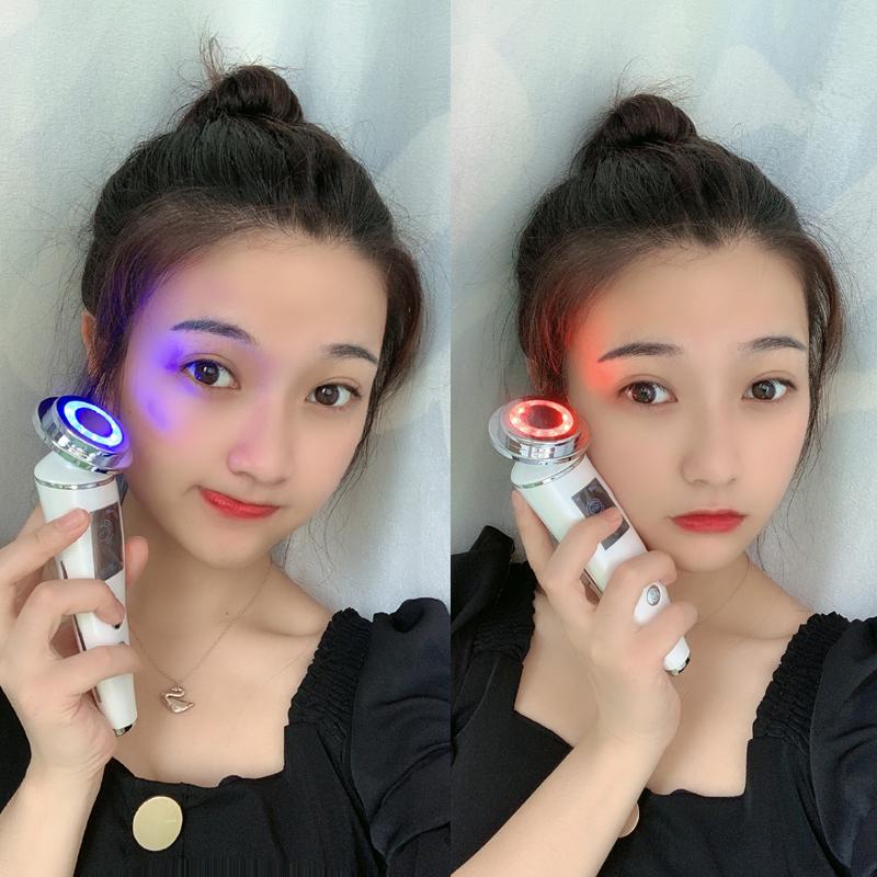 李佳琪推荐红蓝光美容仪嘉琪琦毛孔家用洗脸仪清洁面脸部导入仪器