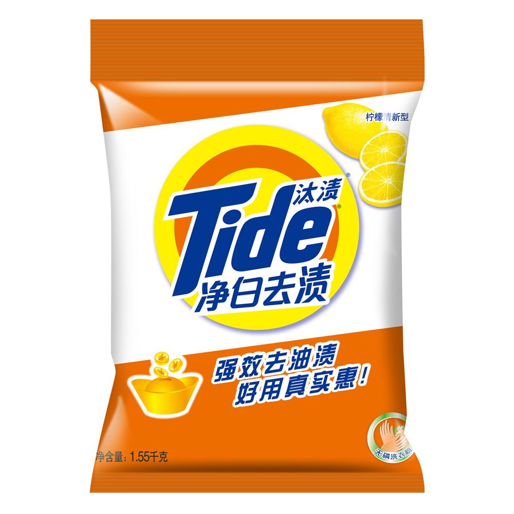 ~天貓超市~汰漬 淨白去漬無磷洗衣粉 1.55kg 潔淨持久留香