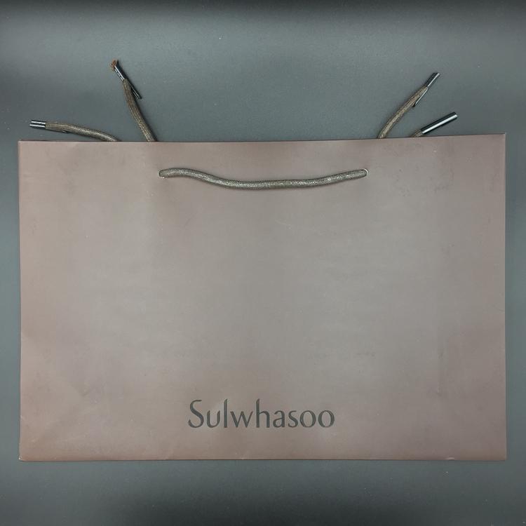 国内专柜正品 雪花秀 购物纸袋 大中小号套装手提袋 可装礼盒