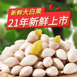 【5斤裝】新鮮大顆帶殼白果銀杏果無漂白泰興特級包郵干貨生百果圖片