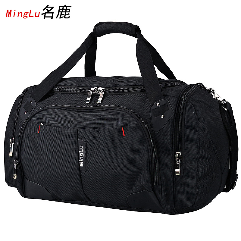Men's large-capacity travel bag for poor travel oversized short-distance large boarding one-shoulder men's extra-large duffel bag