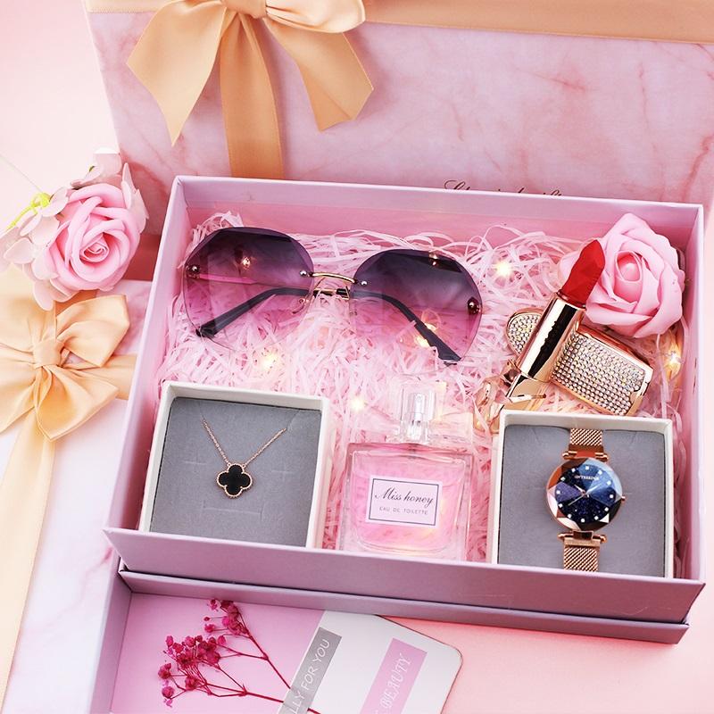 生日礼物女生送女友闺蜜新款七夕教师节浪漫实用礼盒走心创意礼品