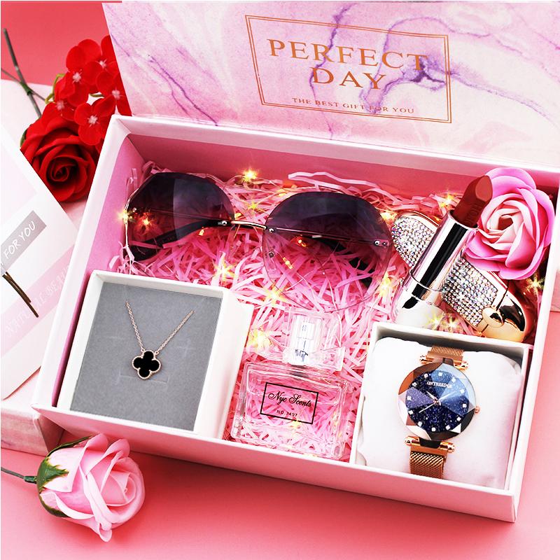 生日禮物女生送女友閨蜜新款七夕圣誕節浪漫實用禮盒走心創意禮品
