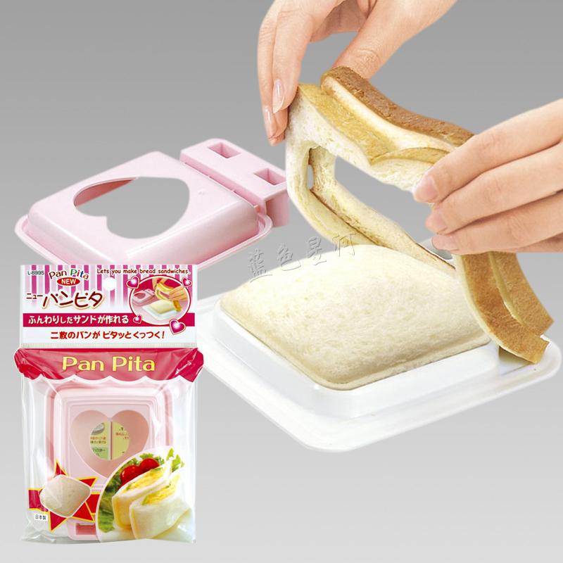 Иморт из японии SANADA карман сэндвич плесень DIY хлеб производство устройство любовь сэндвич домой завтрак
