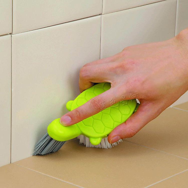 Иморт из японии творческий черепаха тип керамическая плитка разрыв щетка ванная комната очистка щеткой сын земля щетка стена угол щетка