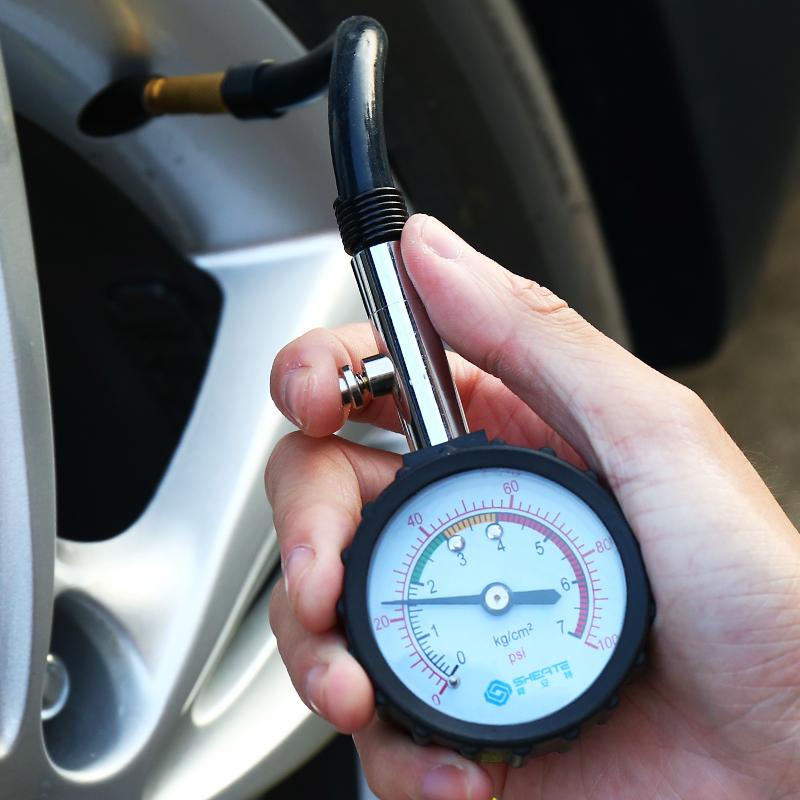 舜安特 高精度數顯胎壓計胎壓表氣壓槍汽車胎壓監測器輪胎氣壓表