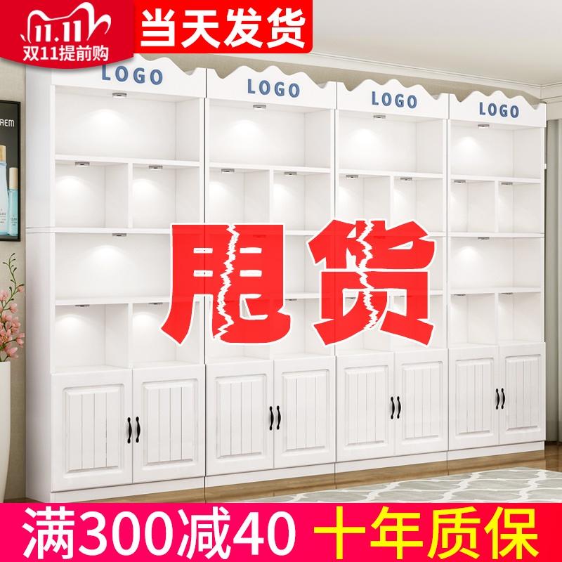 化妆品展示柜美容院产品货架展示架货柜陈列架美甲柜子置物陈列柜