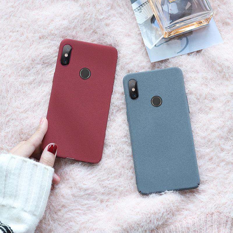 红米note7pro手机壳note5女款红米5plus磨砂note7超薄红米7全满38.00元可用19元优惠券