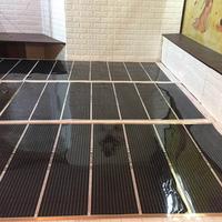 石墨烯电热膜地暖家用电炕韩国碳晶碳纤维发热地热膜加热电热炕板