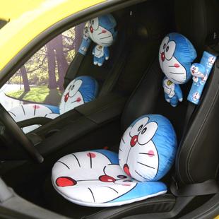汽车内饰装饰用品护颈枕汽车头枕靠枕卡通可爱头靠腰靠四季通用女价格