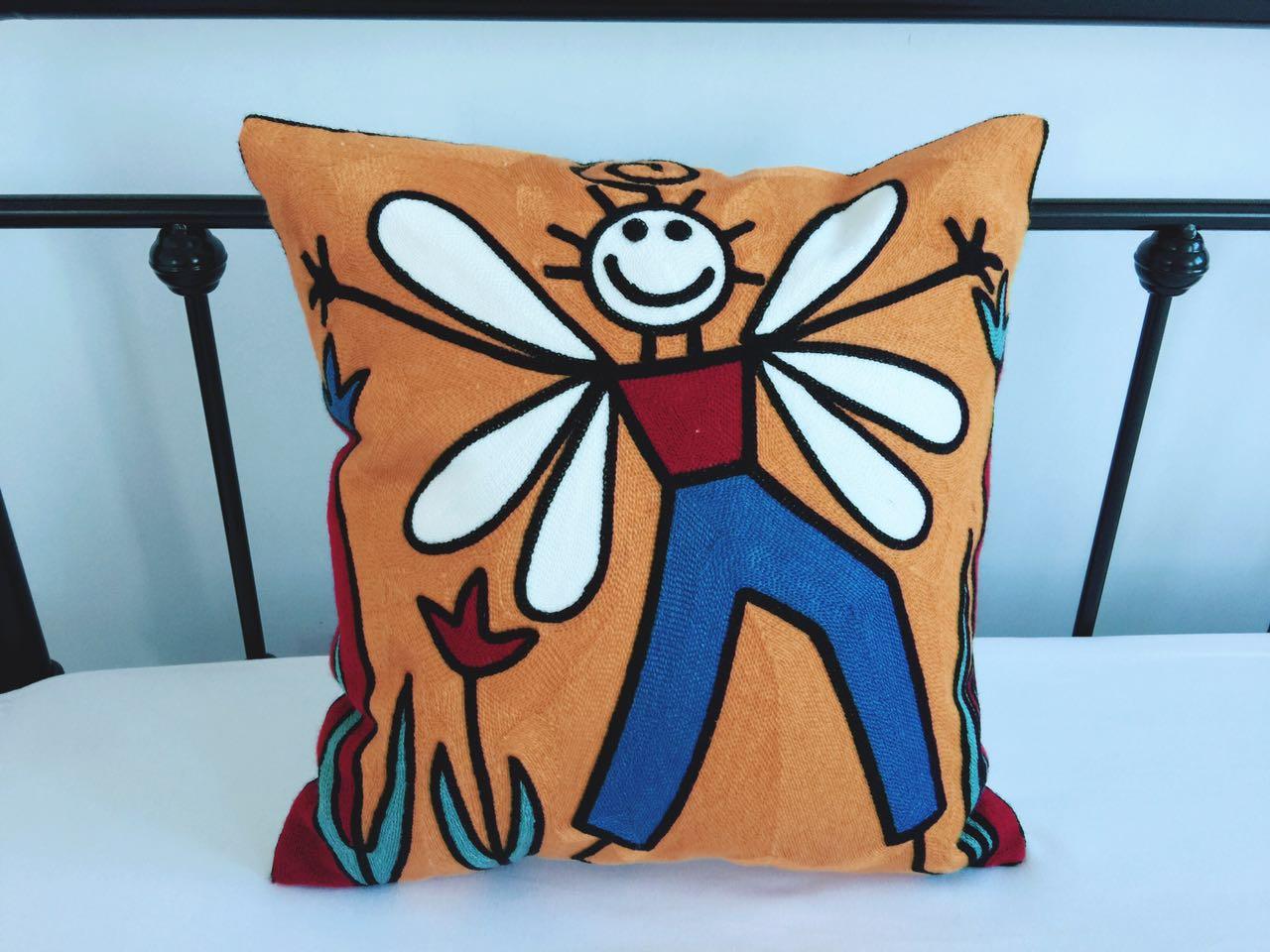 Мультики подушка диван подушка офис комната подушка прикроватный спинка автомобиль ремень подушка подушка ядро поясничная подушка подушка