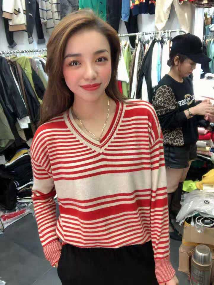 Discount price of spring 2020 womens western Asian Miro cashmere knitted sweater