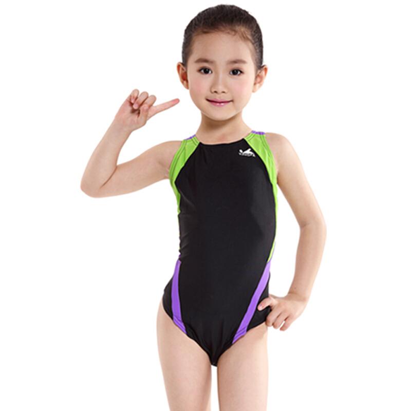 Yingfa professional triangle one-piece swimsuit girls training swimsuit 976 946 childrens swimsuit