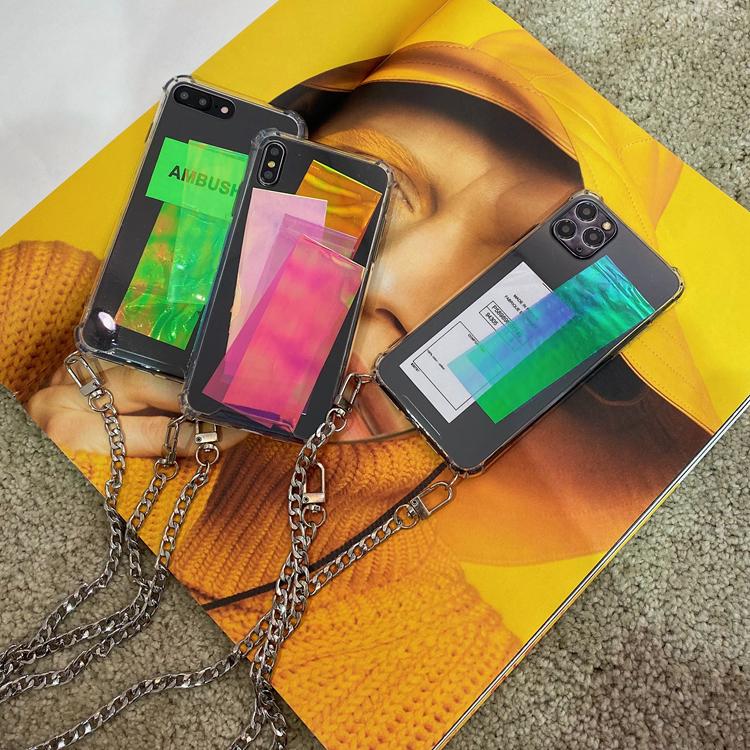 Moka2020新款标签diy链条手机壳