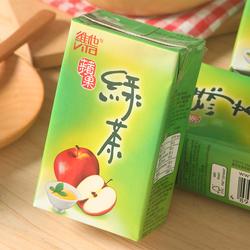 香港进口饮料 维他Vita Juice 苹果绿茶饮料香港版250ml*6盒