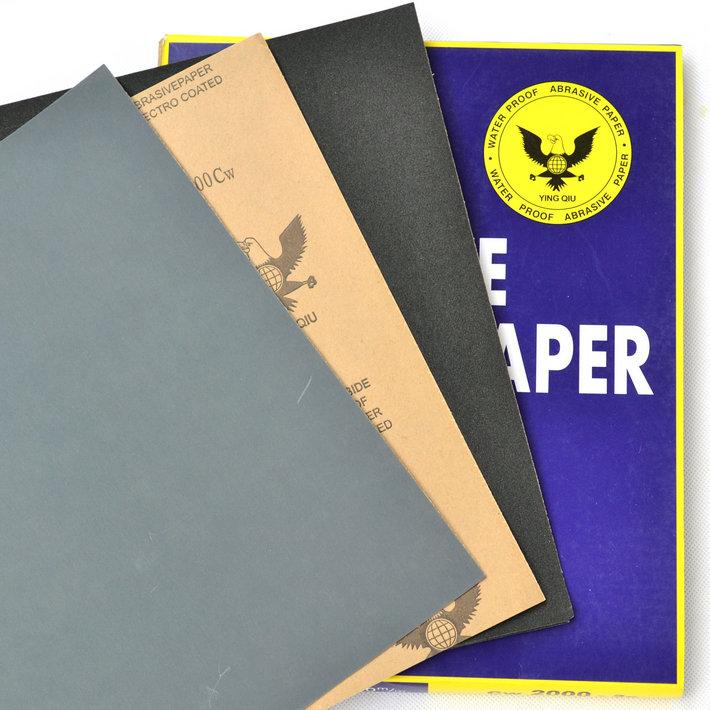 Орел мяч сопротивление вода наждачная бумага вода скраб бумага 60#-2000# полированный наждачная бумага вода наждачная бумага ручной работы наждачная бумага