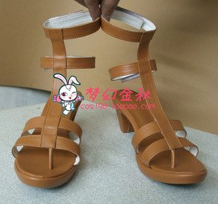 One Piece Nami cosplay shoes handmade shoe fantasy autumn cos