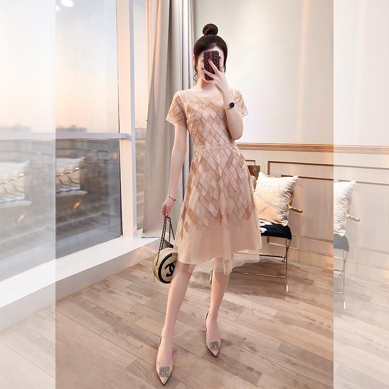 法式蕾丝超仙茶歇2021年新款仙女裙