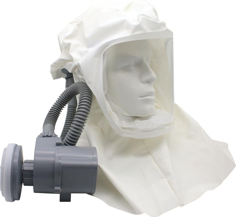 新品以勒自吸式呼吸器 电动送风 移动式过滤式呼吸头罩充电式包邮