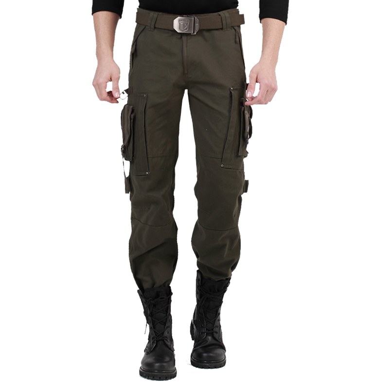 Outdoor field army fan clothing couple Multi Pocket pants special soldier overalls casual camouflage loose military pants