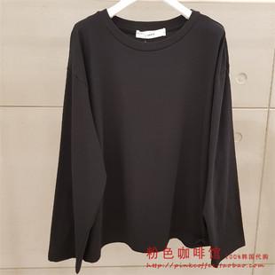 女款 韓國直郵專柜正品 時尚 直筒長袖 T恤SF3TSF181 代購 SIERO19秋款