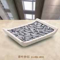 香皂盒肥皂盒创意沥水时尚欧式树脂皂盘酒店皂碟手工皂盒浴室配件