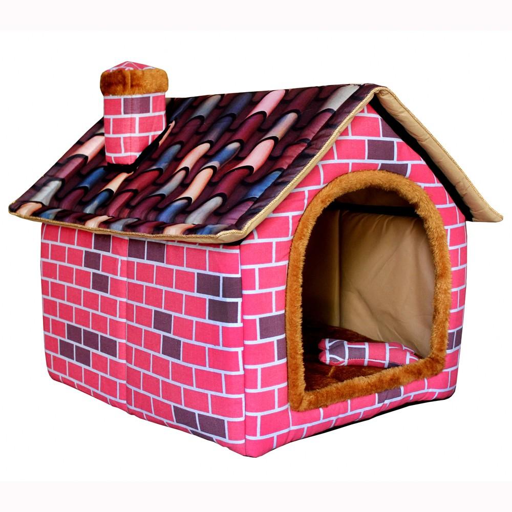 Шу mu премиум pet кирпича хлопок большая собака дом Питомник собак дома комнатное животное дом гнезда золотых волос
