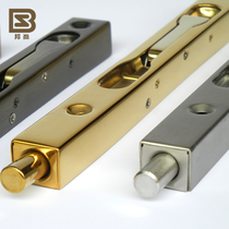 (Italian bang Shang) double-open mother door box slotted stainless steel dark pin lengthened gold and silver bronze