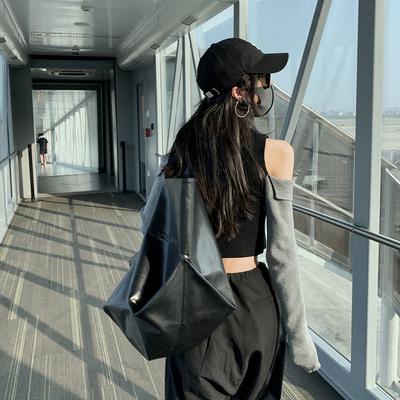 毛衣女2019洋气新款针织衫修身上衣女长袖内搭露肩黑色打底衫秋冬