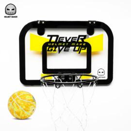 头盔哥新品室内迷你儿童小篮筐趣味宿舍挂式篮板家用一号球篮球架