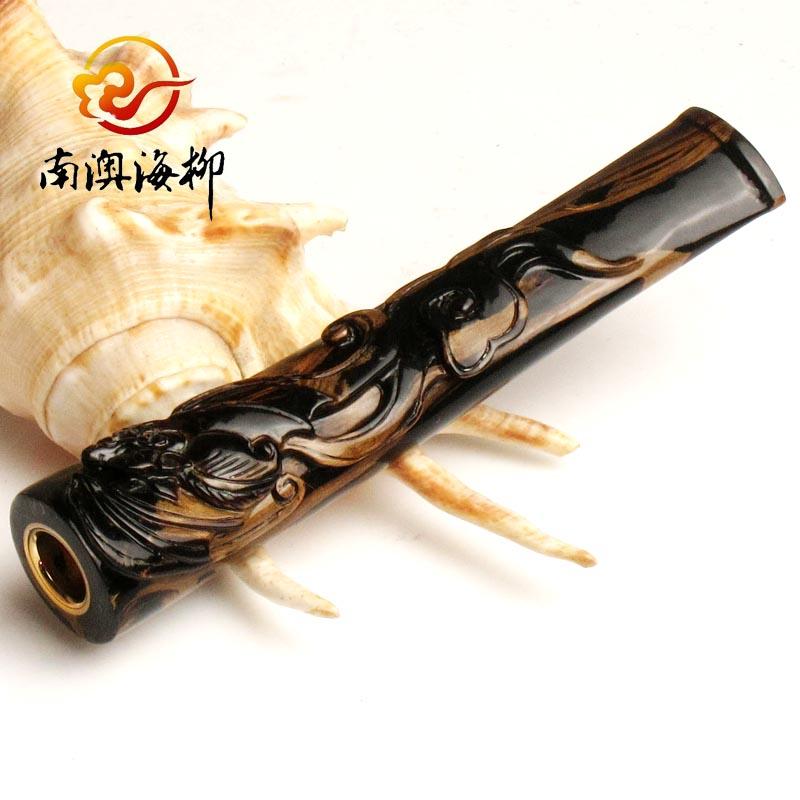 海柳煙嘴 過濾可清洗 雙重過濾雕刻煙嘴 正品活性炭高效過濾煙嘴
