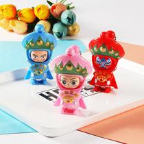 川剧变脸娃娃小玩偶中国特色脸谱创意儿童玩具旅行纪念品桌面摆件