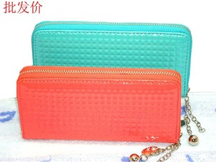 Buy 2015 spring models influx of women long section of zipper paragraph Lingge money hand wallet Korean students change card