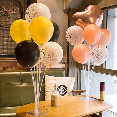 气球桌飘户外郊游野餐用品地飘网红气球支架情侣婚庆生日装饰布置